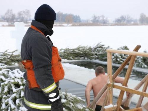 Photo of В Киеве на Крещение два человека получили обморожение