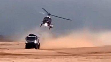 Photo of Вертолет организаторов «Дакара» столкнулся с КАМАЗом