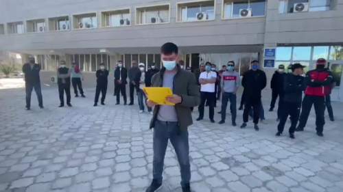 Photo of Недовольные зарплатой рабочие записали видеообращение к Токаеву