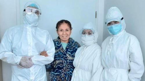 Photo of Астанчанка со 100-процентным поражением легких родила здоровую дочь