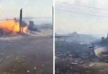 Photo of Масштабный пожар произошел в селе на севере Казахстана