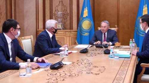 Photo of Назарбаев принял глав «Самрук-Казына» и «Лукойла»