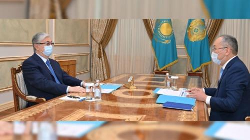 Photo of Президенту Токаеву сообщили о 87 преступных группах