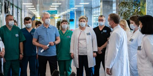 Photo of Собянин открыл ковидный стационар в городской больнице № 15 имени Филатова