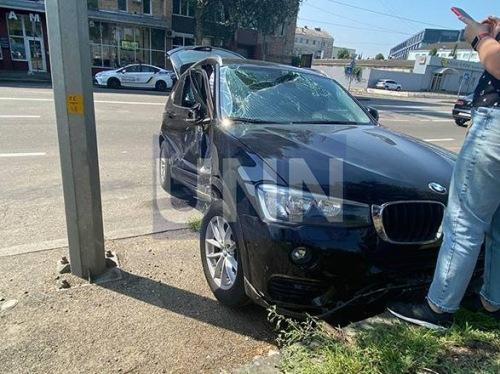 Photo of Из-за столкновения автомобилей в столице — машины «разбросало» в разные стороны