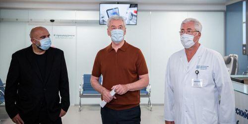 Photo of Собянин открыл центр эндоскопии в Боткинской больнице