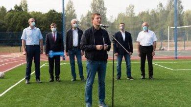 Photo of Турчак принял участие в открытии школьного стадиона в Струго-Красненском районе Псковской области