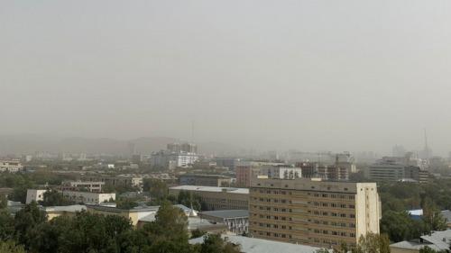 Photo of Алматинцы пожаловались на пыльную бурю в городе