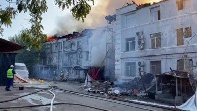 Photo of Полиция расследует пожар в доме в центре Алматы