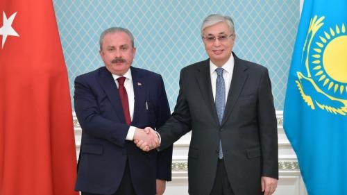 Photo of Президент Токаев принял главу Великого национального собрания Турции