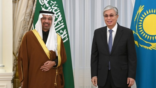 Photo of Президент Токаев принял министра инвестиций Саудовской Аравии