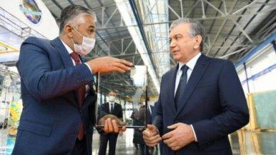 Photo of В Намангане президент посетил промышленный городок
