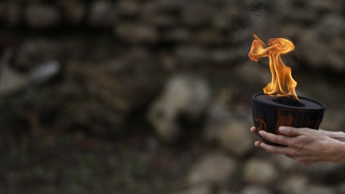 Photo of Церемония зажжения олимпийского огня пройдет без зрителей