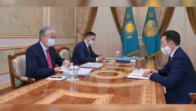 Photo of Президент Токаев принял исполнительного директора секретариата СВМДА