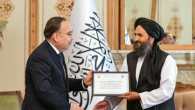 Photo of Спецпредставитель Токаева встретился с представителями администрации Афганистана